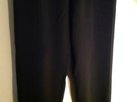 Black Kenneth Cole Four Pocket Dress Pants Button Zip Closure Size 31 by 32 image 3