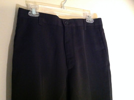 Black Kenneth Cole Four Pocket Dress Pants Button Zip Closure Size 31 by 32 image 2