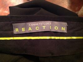 Black Kenneth Cole Four Pocket Dress Pants Button Zip Closure Size 31 by 32 image 9