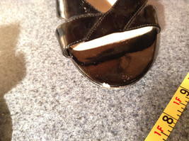 Black High Heel Shoes Bandolino Good Condition Size 9M See Pictures image 8