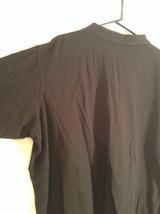 Black King Size 100 Percent Cotton Short Sleeve Tall Polo Shirt Size XXXL image 3