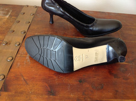 Black Kenneth Cole Shoes High Heels Leather Outside Excellent Condition Size 37 image 7
