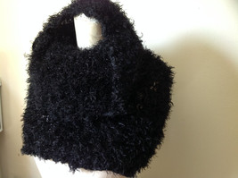 Black Magic Fuzzy Circle Scarf Can Be Worn Multiple Ways Very Expandable NO TAGS image 3