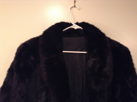 Black Mink Fur Coat Fur in Good Condition Size 14 Rebecca Chase image 3
