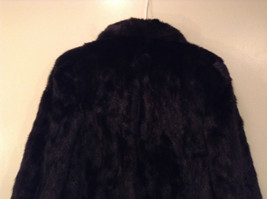 Black Mink Fur Coat Fur in Good Condition Size 14 Rebecca Chase image 6