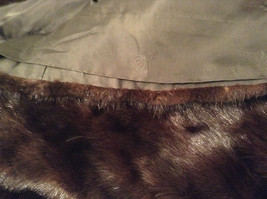 Black Mink Fur Coat Fur in Good Condition Size 14 Rebecca Chase image 12