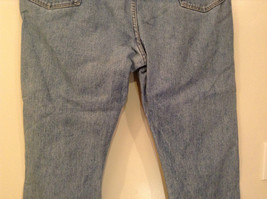 Wrangler Blue Jeans Straight Legs 100 Percent Cotton Size 42 by 30 image 7