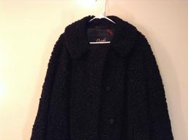 Black Persian Lamb Fur Coat by Pierre Furs No Size Tag Measurements Below image 2