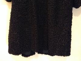 Black Persian Lamb Fur Coat by Pierre Furs No Size Tag Measurements Below image 5