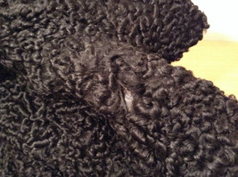 Black Persian Lamb Fur Coat by Pierre Furs No Size Tag Measurements Below image 10