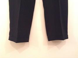 Black Pleated Front Dress Pants Merit Millennial Comfort Measurements Below image 4