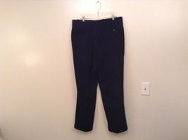 Black Pleated Front Dress Pants Merit Millennial Comfort Measurements Below image 2
