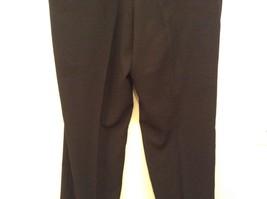 Black Pleated Front Dress Pants Merit Millennial Comfort Measurements Below image 6
