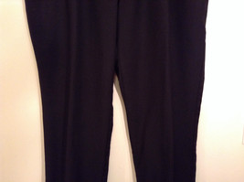 Black Pleated Front Structure 100 Percent Wool Dress Pants Size 40 by 30 image 4