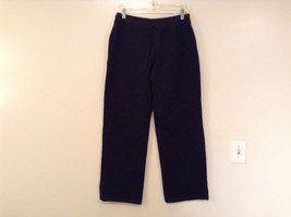 Black Polo Jeans Sweatpants Adjustable Waist String Size Small image 2