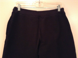 Black Polo Jeans Sweatpants Adjustable Waist String Size Small image 5