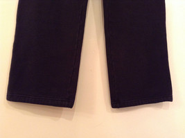 Black Polo Jeans Sweatpants Adjustable Waist String Size Small image 4