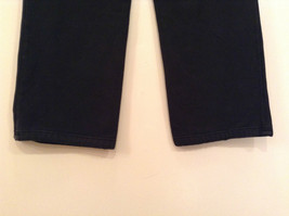 Black Polo Jeans Sweatpants Adjustable Waist String Size Small image 6