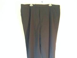 Black Pleated Dress Pants NO TAGS See Measurements Below image 2