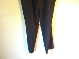 Black Pleated Dress Pants NO TAGS See Measurements Below image 5