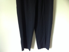 Black Pleated Elastic Waist Work Casual Pants by Jennifer Moore Size 10 image 3