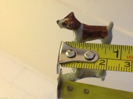 ceramic miniature dog cute standing happy Jack Russell Terrier image 2