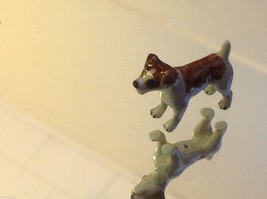 ceramic miniature dog cute standing happy Jack Russell Terrier image 4