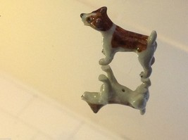 ceramic miniature dog cute standing happy Jack Russell Terrier image 3