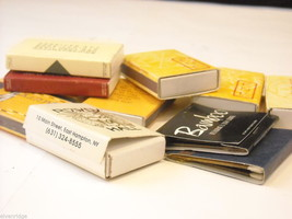 set of 12 Matchbooks and boxes from The Hamptons image 3