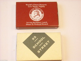 set of 12 Matchbooks and boxes from The Hamptons image 9