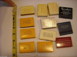 set of 12 Matchbooks and boxes from The Hamptons image 2