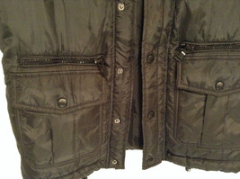 Black Size S Petite Express Warm Vest Zipper Closure Four Front Pockets image 4