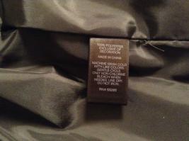 Black Size S Petite Express Warm Vest Zipper Closure Four Front Pockets image 6