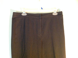 Black Talbots Stretch Pants Size 10 Zipper and Button Closure One Back Pocket image 2