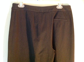 Black Talbots Stretch Pants Size 10 Zipper and Button Closure One Back Pocket image 5