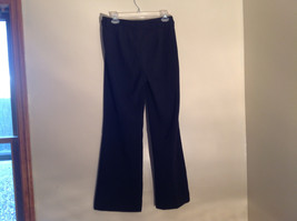 Black Tie Belt Casual Pants Zipper Button 2 Clasp Closure Geoffrey Been Size 4S image 6