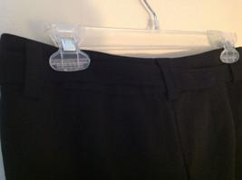 Black Tie Belt Casual Pants Zipper Button 2 Clasp Closure Geoffrey Been Size 4S image 5