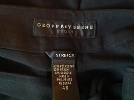 Black Tie Belt Casual Pants Zipper Button 2 Clasp Closure Geoffrey Been Size 4S image 7