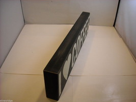 """Black Wooden Box Sign """"I [Heart] Love Coffee"""" Saying image 6"""