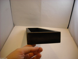 """Black Wooden Box Sign """"I [Heart] Love Coffee"""" Saying image 5"""