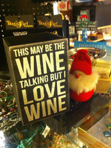Black Wooden Box Wine Caddy Wine Goes In Wisdom Comes Out and Wine Talking image 2
