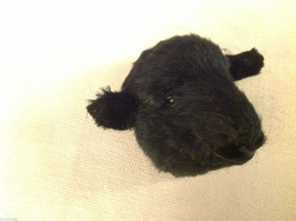 Black sheep  furry refrigerator magnet in 3D image 4