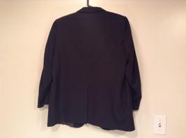 Black with Light Stripes Steffano Barneys New York Suit Jacket Blazer No Tag image 5