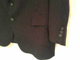 Black with Light Stripes Steffano Barneys New York Suit Jacket Blazer No Tag image 4