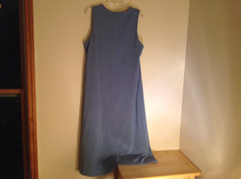 Blue Christopher and Banks  Sleeveless Dress Made in Indonesia Size 12 image 5