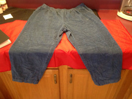 Blue Corduroy Alfred Dunner Ladies Pants Size 22W image 4