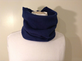 Blue Fleece Pullover Scarf 100% polyester image 2