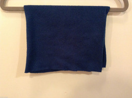 Blue Fleece Pullover Scarf 100% polyester image 3