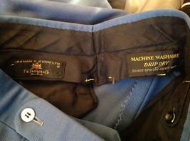 Blue Four Pocket Graham and Gunn LTD Dress Pants Zip Clasp Button Closure image 8
