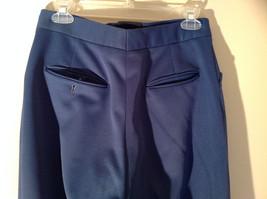 Blue Four Pocket Graham and Gunn LTD Dress Pants Zip Clasp Button Closure image 5